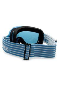 Niebieskie okulary przeciwsłoneczne Uvex