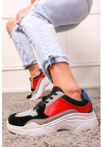 Wielokolorowe buty sportowe IVET w kolorowe wzory