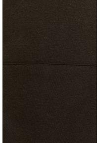 Czarna bluza nierozpinana Jack & Jones gładkie, casualowa