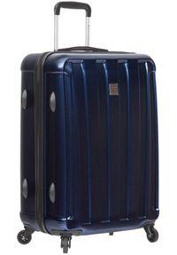 Niebieska walizka Sirocco wakacyjna