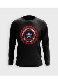 MegaKoszulki - Koszulka męska z dł. rękawem Shield. Materiał: bawełna