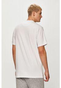 Biały t-shirt Prosto. na co dzień, casualowy, z nadrukiem