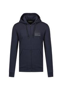 Peak Performance - Bluza PEAK PERFORMANCE GROUND ZIP HOOD. Materiał: bawełna, dresówka, tkanina, poliester. Długość rękawa: raglanowy rękaw. Wzór: napisy, gradientowy