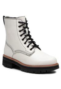 Białe buty trekkingowe Clarks