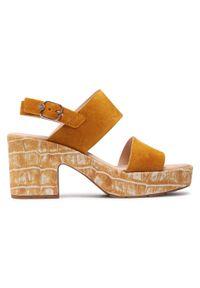 Pomarańczowe sandały Callaghan