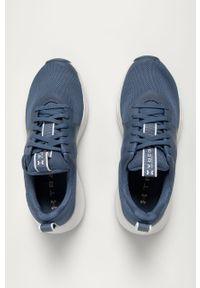 Sneakersy Under Armour na sznurówki, z okrągłym noskiem