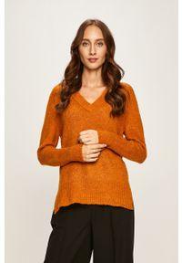 Pomarańczowy sweter Jacqueline de Yong
