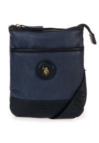 Niebieska torba U.S. Polo Assn elegancka