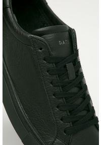 Czarne sneakersy D.A.T.E. z cholewką, na sznurówki, z okrągłym noskiem #5