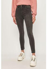 Szare jeansy Haily's z podwyższonym stanem