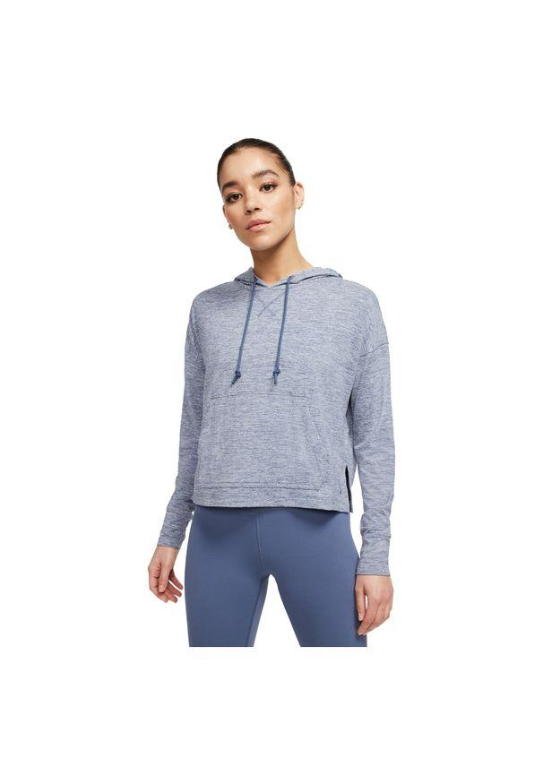 Bluza damska Nike Yoga CQ8833. Typ kołnierza: kaptur. Materiał: poliester, materiał. Technologia: Dri-Fit (Nike). Sport: fitness, joga i pilates