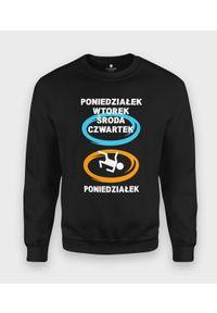 MegaKoszulki - Bluza klasyczna Skok przez weekend. Styl: klasyczny