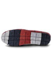 Lanqier - Półbuty LANQIER 44C1584 Czerwony. Kolor: czerwony