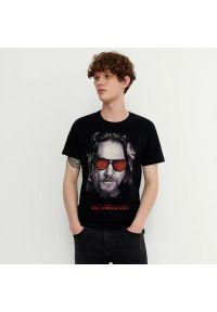 House - Koszulka z nadrukiem Big Lebowski - Czarny. Kolor: czarny. Wzór: nadruk