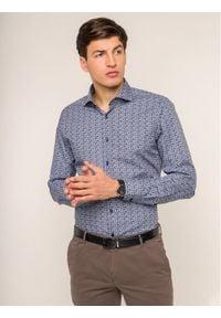 JOOP! - Joop! Koszula 30017084 Granatowy Slim Fit. Kolor: niebieski