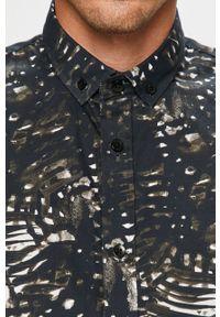 Niebieska koszula Clean Cut Copenhagen button down, długa