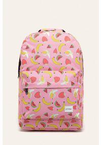 Różowy plecak Spiral