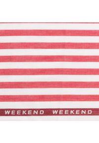 Czerwony szalik Weekend Max Mara