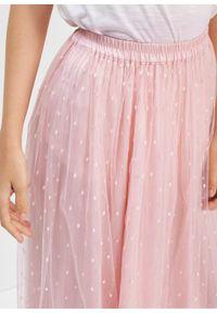 Różowa spódnica bonprix długa