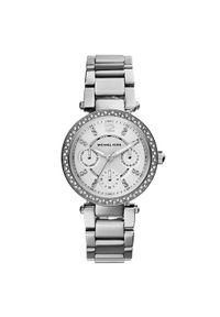 Srebrny zegarek Michael Kors