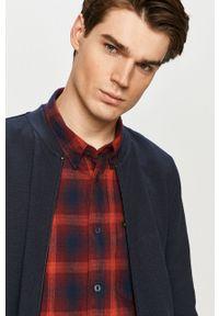 Niebieska bluza rozpinana Tom Tailor na co dzień, casualowa, bez kaptura