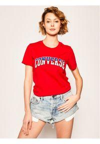 Czerwony t-shirt Converse