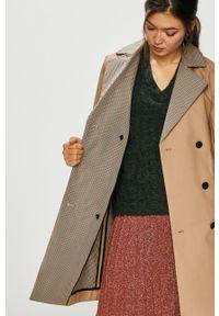 Pepe Jeans - Trencz Daria. Okazja: na co dzień. Kolor: beżowy. Styl: klasyczny, casual #8