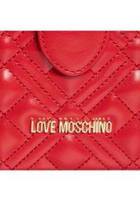 Czerwony kuferek Love Moschino