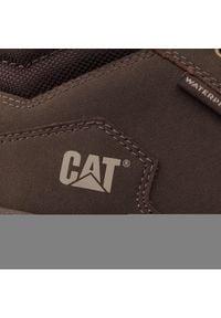 CATerpillar - Trzewiki CATERPILLAR - Westport Wp P722773 Brown. Okazja: na co dzień. Kolor: brązowy. Materiał: skóra, nubuk, materiał. Sezon: zima, jesień. Styl: elegancki, casual