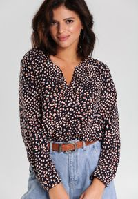 Renee - Granatowa Koszula Jace. Kolor: niebieski