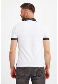 Versace Jeans Couture - POLO VERSACE JEANS COUTURE. Typ kołnierza: polo. Wzór: jednolity, nadruk. Styl: sportowy