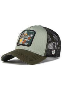 Zielona czapka z daszkiem CapsLab z motywem z bajki