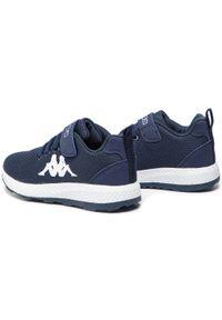Kappa - Sneakersy KAPPA - Banjo 1.2 K 260686K Navy/White 6710. Okazja: na spacer, na co dzień. Zapięcie: rzepy. Kolor: niebieski. Materiał: skóra ekologiczna, skóra, materiał. Szerokość cholewki: normalna. Styl: casual