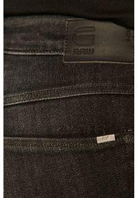Czarne jeansy G-Star RAW z podwyższonym stanem