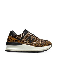 Buty sportowe New Balance z cholewką, w kolorowe wzory, na co dzień, na lato
