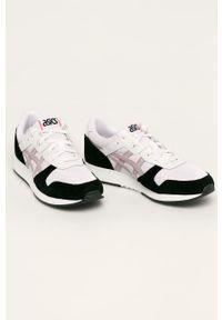 Białe sneakersy Asics Tiger z cholewką, z okrągłym noskiem, Asics Tiger