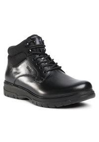Czarne buty zimowe Go Soft na co dzień, casualowe, z cholewką