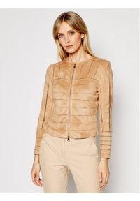 Marella Kurtka przejściowa Verdun 39110211 Brązowy Slim Fit. Kolor: brązowy