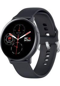 Smartwatch Pacific 24-6 Czarny (PACIFIC 24-6 czarny). Rodzaj zegarka: smartwatch. Kolor: czarny