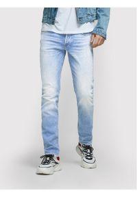Jack & Jones - Jack&Jones Jeansy Glenn 12168694 Niebieski Slim Fit. Kolor: niebieski