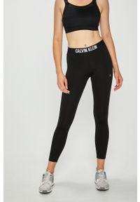 Czarne legginsy Calvin Klein Performance gładkie