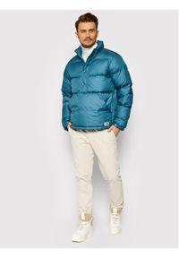 Niebieska kurtka puchowa The North Face
