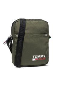 Tommy Jeans Saszetka nerka Tjm Campus Reporter AM0AM07500 Zielony. Kolor: zielony