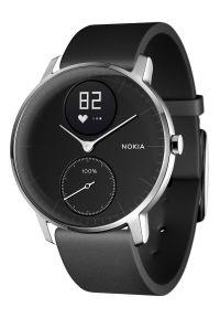 Czarny zegarek WITHINGS elegancki