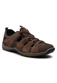 Go Soft - Sandały GO SOFT - 701600 Brown. Kolor: brązowy. Materiał: skóra, zamsz. Sezon: lato. Styl: klasyczny