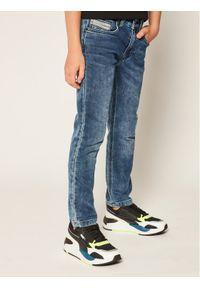 Niebieskie jeansy Timberland
