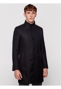 BOSS - Boss Płaszcz przejściowy Shanty1 50444391 Czarny Slim Fit. Kolor: czarny