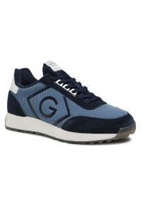 Sneakersy GANT - Garold 22637638 Marine G69. Kolor: niebieski. Materiał: zamsz, materiał, skóra. Szerokość cholewki: normalna. Styl: marine