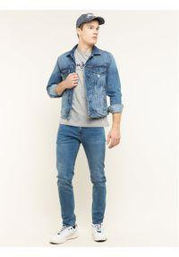 Szara koszulka z długim rękawem Pepe Jeans