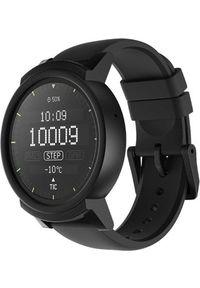 Czarny zegarek TICWATCH smartwatch